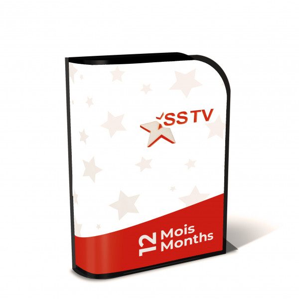 Iptv SSTV Starsat Abonnement 12 mois   Officiel Code