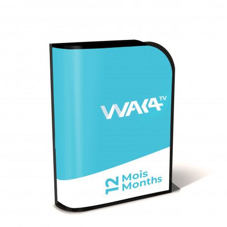 Iptv Waka TV Samsung-LG Abonnement 12 mois | Officiel Code